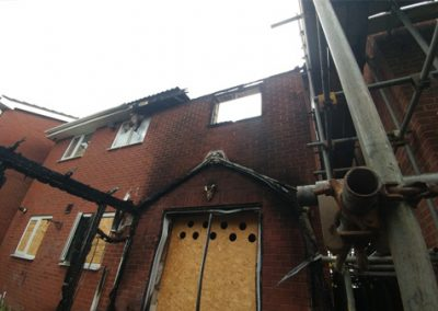 Fire Damage – Newcastle