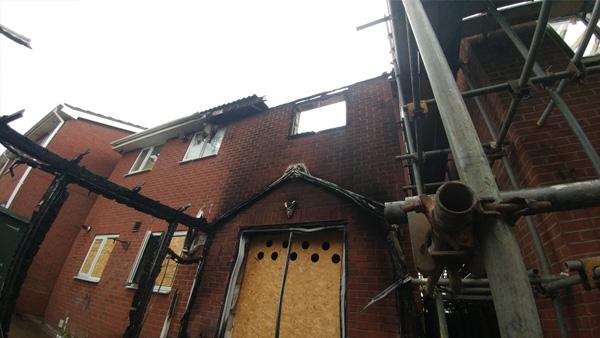 Fire Damage – Newcastle